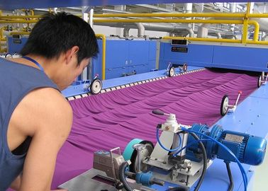 China Knits Finishing Textile Stenter Machine Tension - Free Horizontal Chain supplier