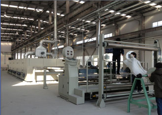 China Simple Operation Cloth Finishing Machines , Inverter Controlled Heat Setting Stenter  supplier