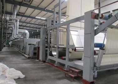 China Thermal Oil Heated Fabric Stenter Textile Machine Knitted Fabric Heat Setting Machine  supplier