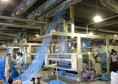 China Low Tension Cloth Stenter Finishing Machine For  Mosquito - Net Stretching / Heat Setting supplier