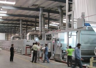 Fabric Cloth Finishing Machines Less Consumption / Single Or Double Drive