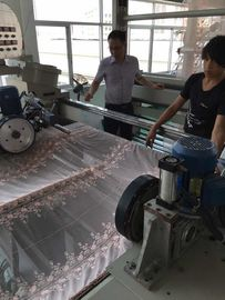 China Knitted Fabric Heat Setting Machine , Textile Finishing Equipment Working Width 1200-3400mm supplier