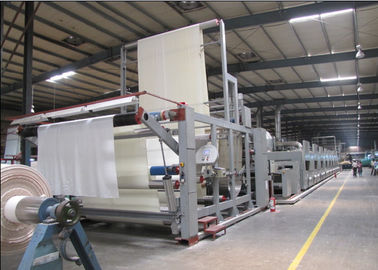China Complete Automation Fabric Stenter Machine Horizontal Rail Type Air Cooling Type supplier