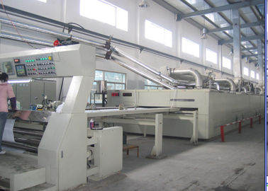 China Fabric Width 1200mm-3600mm Woven Textile Stenter Machine Slant Padder ISO9001 supplier
