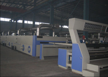 China Flat Width Entry Heat Setting Textile Finishing Machine , Textile Stenter Machine  supplier