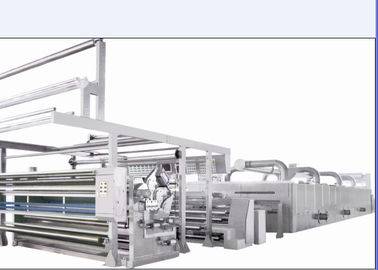 China High Automation Heat Setting Stenter Overfeed Range -10% To 30% / Optional Chambers supplier