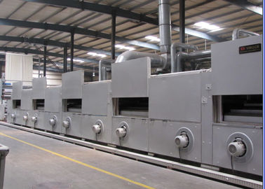 China Humanized Design Stenter Machine Textile , Stenter Finishing Machine Horizontal Rail supplier