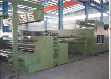 China Horizontal Rail Stenter Machine Textile Finishing Machine Exit Type Plaiting / Batching supplier