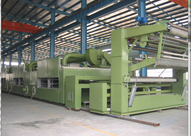 China Friendly HMI Fabric Stenter Machine 125mm Guide Roller Monforts Type Pin / Clip supplier