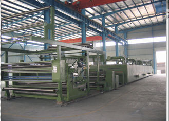China Multi - Functional Heat Set Textile Finishing Machine Guide Roller Diameter 125mm supplier