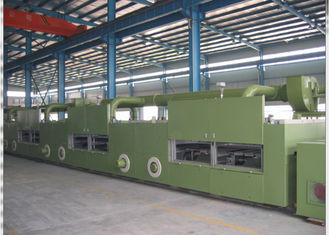 China Hot Air Stenter Equipment , Fabric Textile Finishing Machine 10-150m/Min supplier