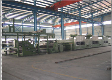 China Energy Saving Heat Setting Stenter Machine Textile PLC Control Warranty 1 Year supplier