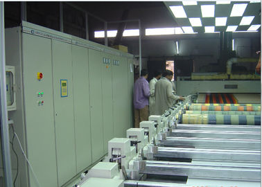 China Maganetic Rotary Screen Printing Machine HMI Interter Controlled Individual Driving supplier