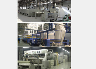 China Open Width Fabric Stenter Machine Full Converter Controlled With Strong Rail supplier