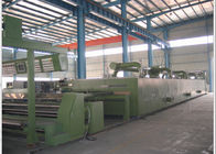 Non - Woven Cloth Finishing Machines Tension Free Chamber Floor Thickness 80mm