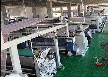 Pin Holding Lace Stenter Finishing Machine , Knitted Fabric Heat Setting Machine