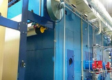 China Gas Heated Loop Steamer Machine Printing Color Fixed For Reactive And Disperse Dye factory