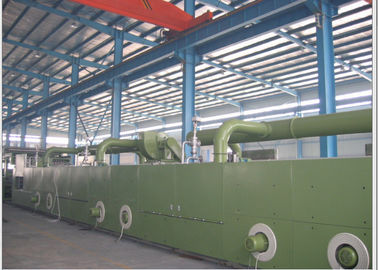 China Fabric Finishing Machine , Textile Stenter Machine 5.5Kw Exhaust Motor Power factory