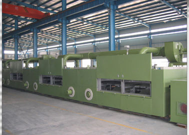 China HMI Operation Textile Stenter Machine Nature Gas / Oil / Electricity / Steam Heating distributor