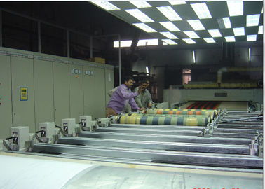 China Squeeze Type Rotary Screen Printing Textiles Machine , Fabric Screen Printing Machine  factory