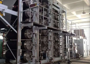 China High Productivity Cylinder Drying Machine Full Inverter Controlled For Finishing Plants distributor