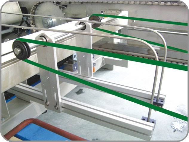 Humanism Design Open Width Textile Compactor Machine For Knits Compacting